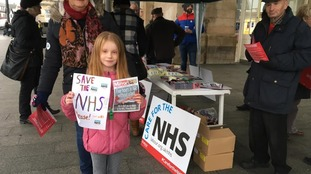 NHS Protest in Hull