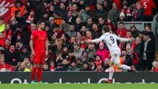 Swansea City stun Liverpool at Anfield