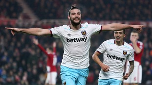 Premier League match report: Middlesbrough 1-3 West Ham