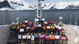 Antarctica Women's March
