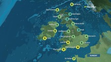 Weather: A cold and frosty start to the day