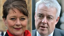 Leanne Wood, Carwyn Jones