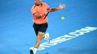 Dan Evans out of the Australian Open