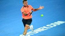 Dan Evans is out of the Australian Open