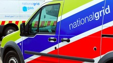 A National Grid van.