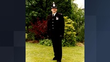 PC Paul Briggs who died this morning