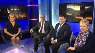ITV News Central political show Central Lobby: January edition
