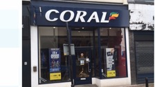 Woman taken to hospital after ceiling collapse in Carlisle betting shop