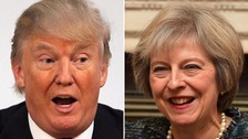 Will May challenge Trump on women's rights?