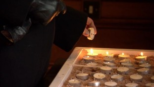Candles lit to remember victims of genocide on Holocaust Memorial day