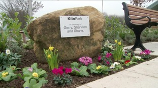 Memorial unveiled to honour murdered mother and children