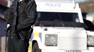 The suspected attack happened in Belfast