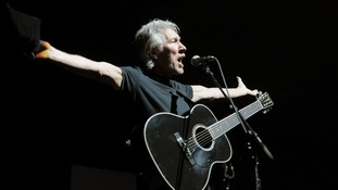 Roger Waters performs The Wall at the 02 Arena in Greenwich, London.