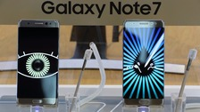 Samsung Galaxy Note 7 fires blamed on faulty batteries