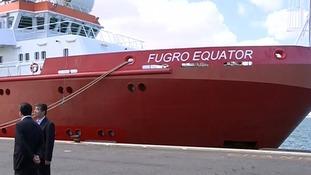 The Fugro Equator has returned to port
