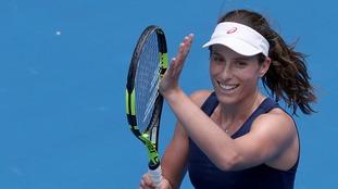 Johanna Konta beat Russia's Ekaterina Makarova
