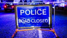 Police have confirmed a man died in the collision.