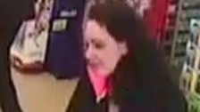 Police want to speak to this woman in connection with a stolen bank card