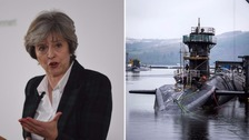 May under pressure to open up about 'failed Trident missile test'