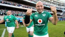 Ireland captain Rory Best.