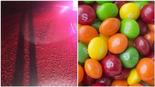 Mars investigating sea of spilled Skittles 'on their way to become cattle feed'