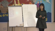 School samples maths teaching Shanghai style