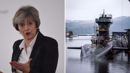 Theresa May was briefed on the Trident missile test