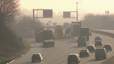 M1 speed limit may be reduced to cut pollution levels
