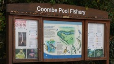 A sign at Coombe Country Park in Coventry