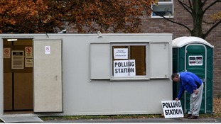 Polling Station in Adswood, Stockport