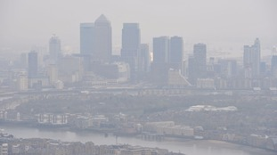 Sadiq Khan issues 'very high' air pollution alert in London