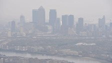 Mayor issues 'very high' air pollution alert in London