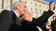 Michelle O'Neill takes over from Martin McGuinness.