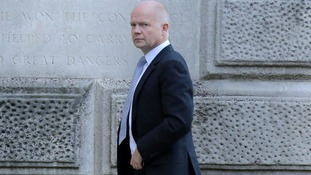 Foreign Secretary  William Hague is set to meet leaders of the Syrian opposition today in London.
