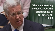 Defence Secretary has 'full confidence' in Trident
