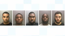 Drugs ring jailed for more than 30 years