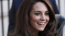 Duchess of Cambridge in EACH charity visit