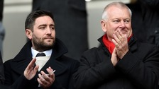 Lee Johnson and Steve Lansdown