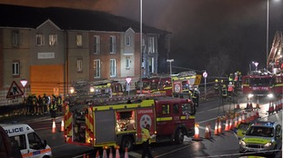 Five people injured and 41 homes evacuated after explosion in Hornchurch