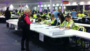 Votes being counted in Bristol this morning