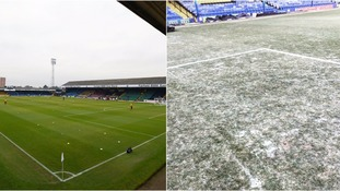 Southend United groundsman sacked after frozen pitch postponement