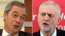 Farage: Corbyn's a 'gift' for Ukip in by-election battle