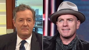 Ewan McGregor said he had not realised Piers Morgan was the host of Good Morning Britain when he agreed to the interview.
