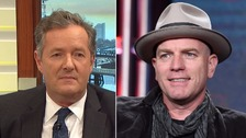 McGregor snubs Piers Morgan over Women's March views