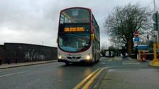 Suspect on the run after bus passenger stabbed to death