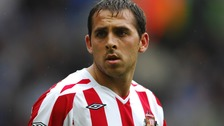 Michael Chopra played for both Sunderland and Newcastle United