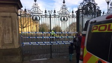 Weston Park cordoned off as sex attack investigated