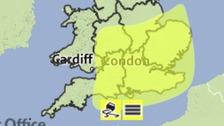 Fog warning extended into Wednesday