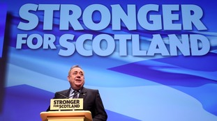 Alex Salmond called on Theresa May to show that the devolved powers are equal partners in the Brexit process.