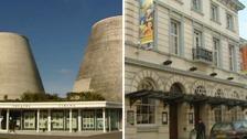 The Landmark Theatre in Ilfracombe and The Queen's Theatre in Barnstaple